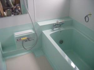 浴槽塗装 施工後